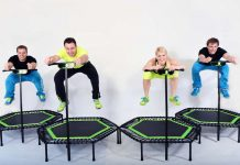 WAYS TO START FITNESS FOR YOUR BODY WAYS TO START FITNESS FOR YOUR BODY WITH TRAMPOLINES